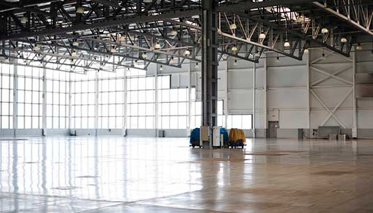 Industrial Cleaning and warehouse cleaning