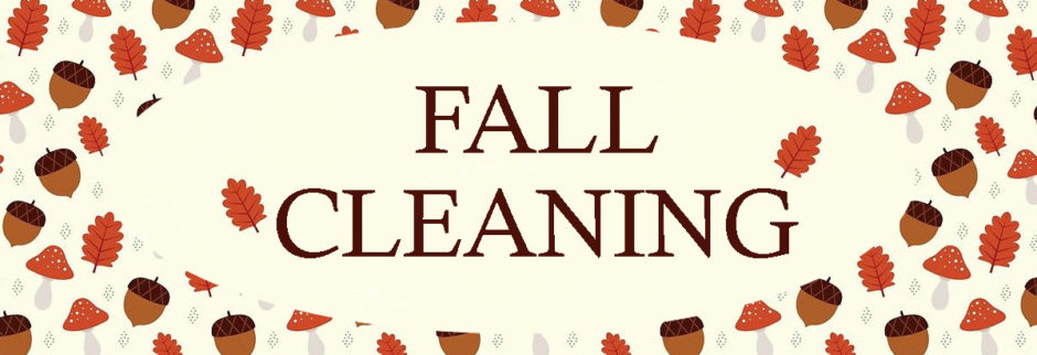Fall-Cleaning
