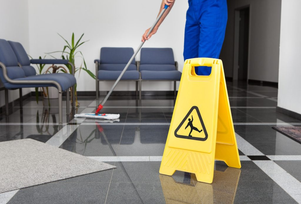 health care facility and medical office cleaning